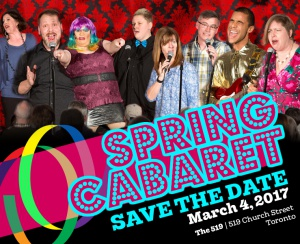 Spring Cabaret - Save the Date