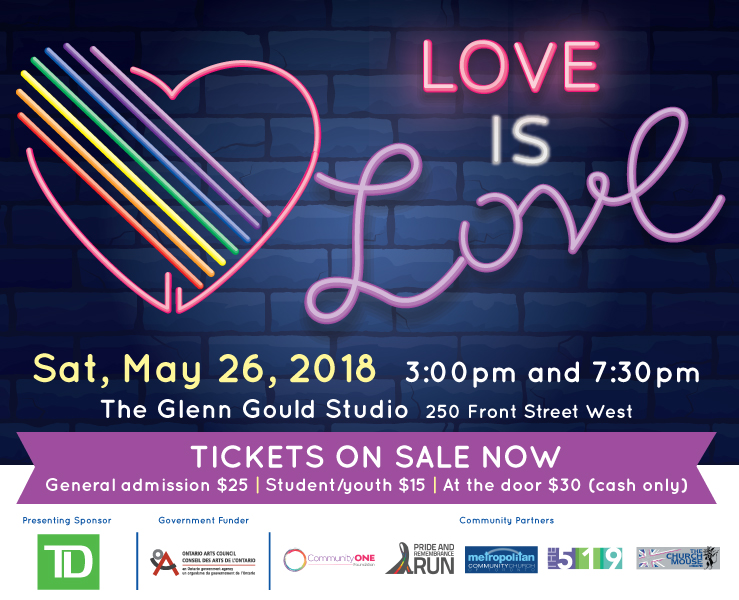 Love is Love: Presented by Singing Out