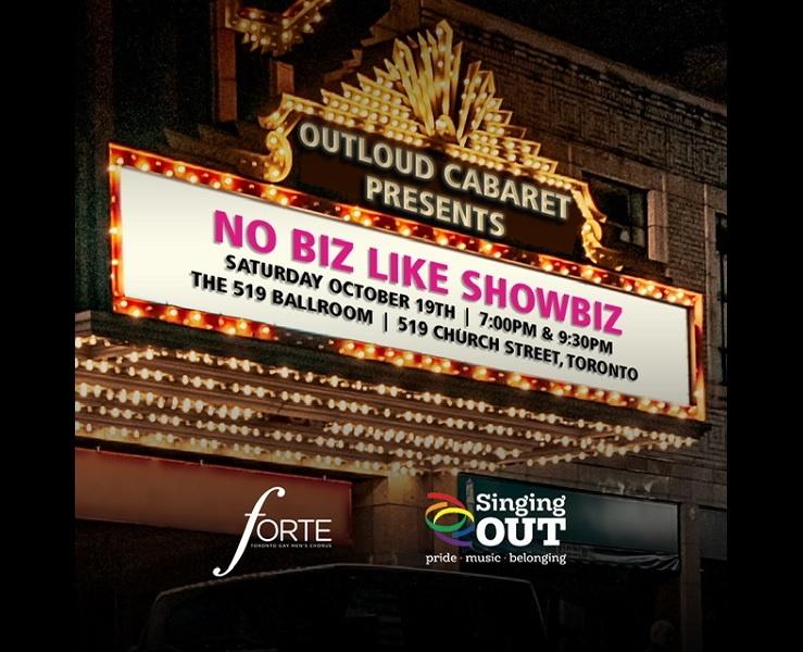Out Loud Cabaret – No Biz Like Showbiz